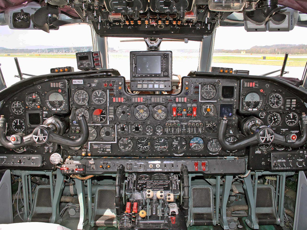 Antonov AN26 (Cockpit) - Available for Private Charter from Execflyer