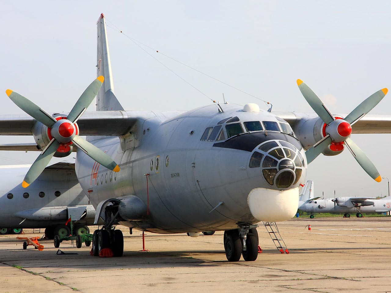 Antonov AN26 (Exterior) - Available for Private Charter from Execflyer