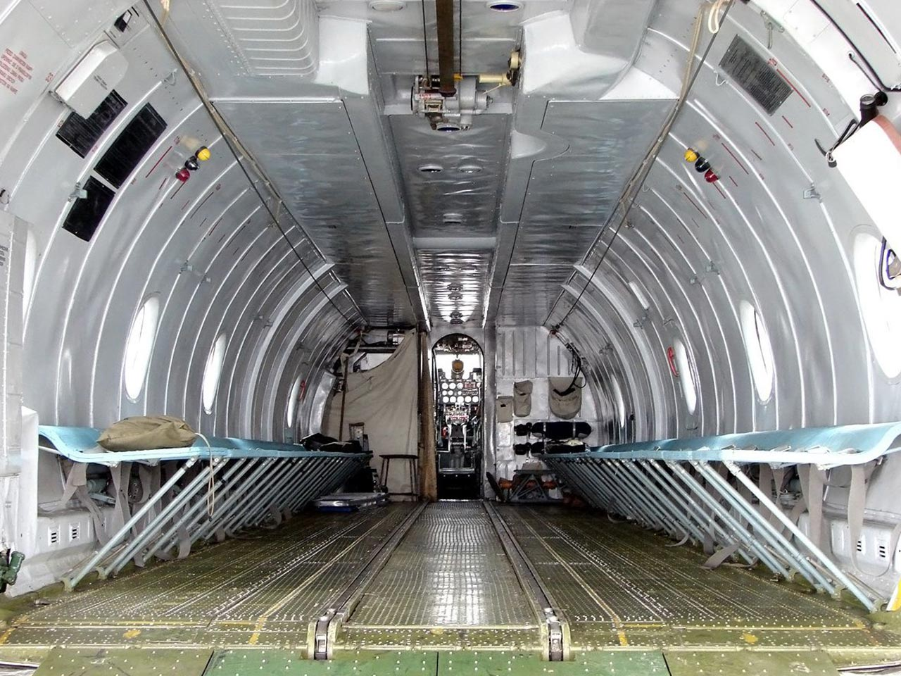Antonov AN26 (Interior) - Available for Private Charter from Execflyer