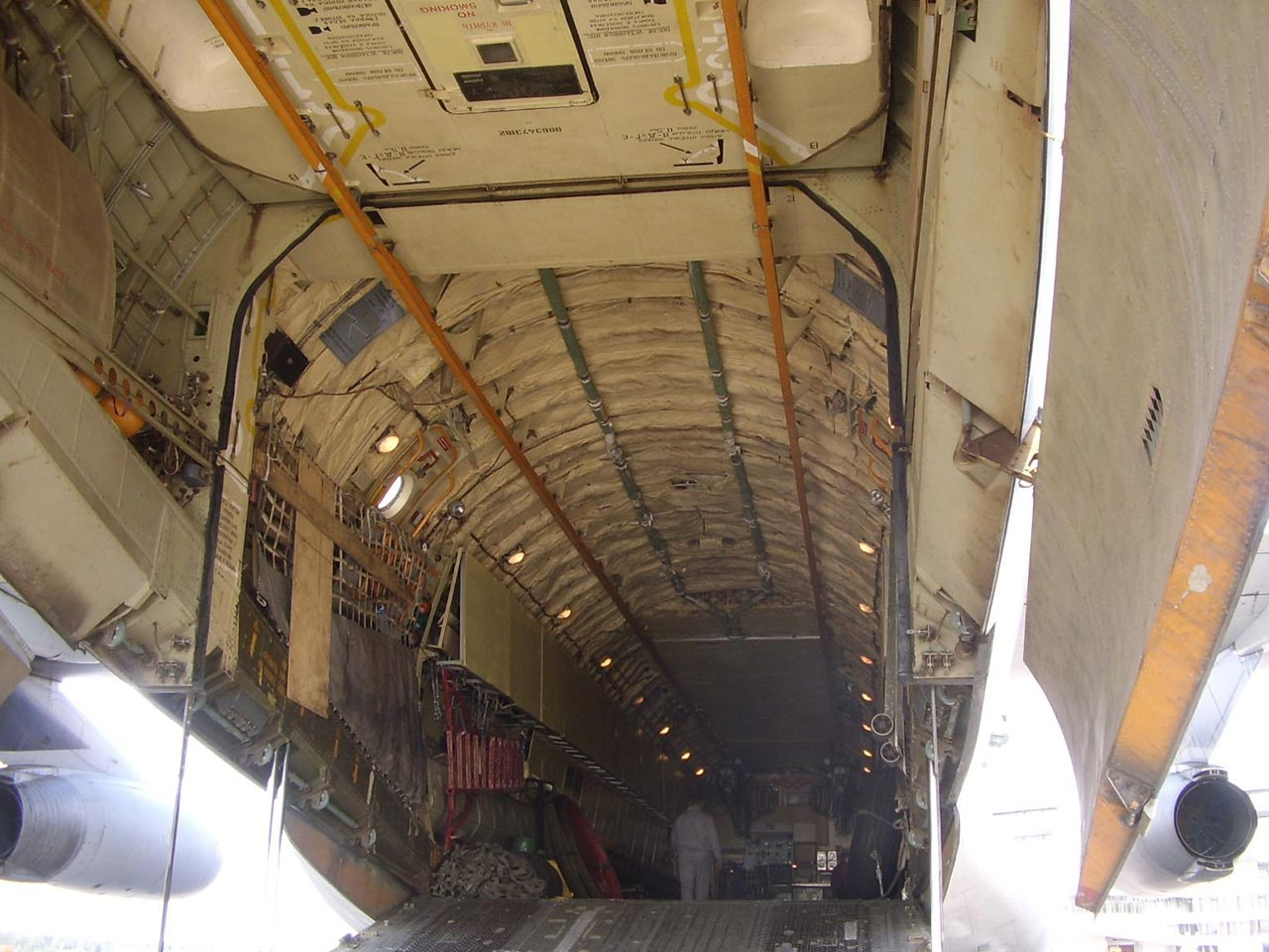Ilyushin IL-76 (Interior) - Available for Private Charter from Execflyer
