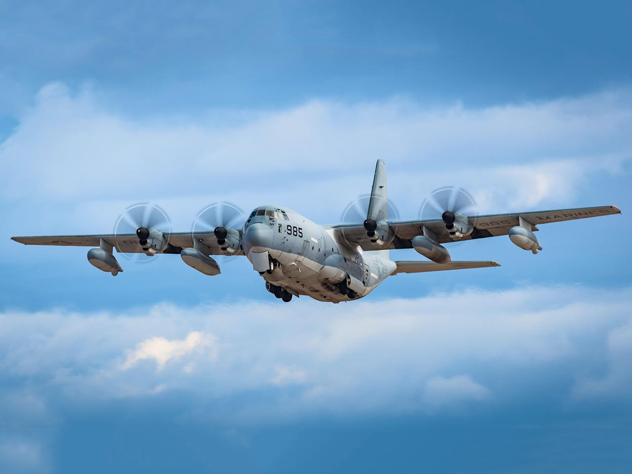 Lockheed L100/C130 Hercules (Exterior) - Available for Private Charter from Execflyer