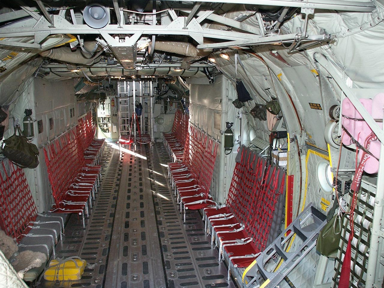 Lockheed L100/C130 Hercules (Interior) - Available for Private Charter from Execflyer